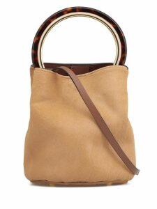 Marni Cow Hide Bucket Bag