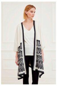Kip Knit Jacquard Kimono
