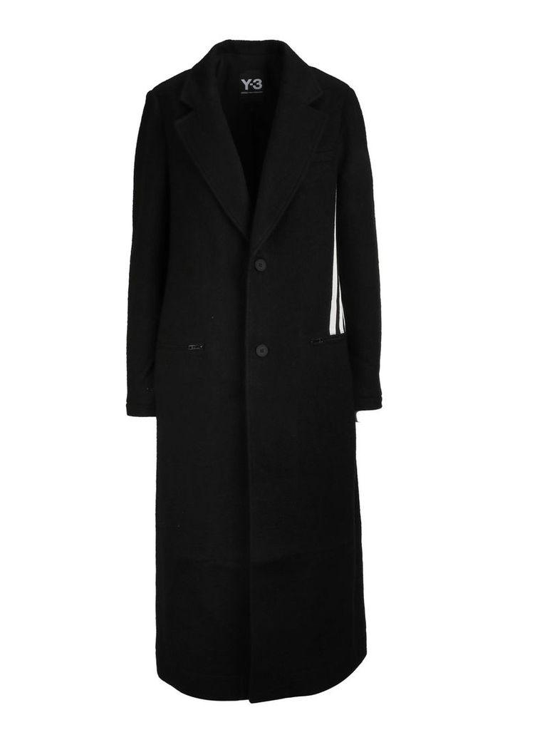Y-3 Single Breasted Coat