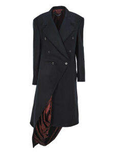 Y/project Y / Project - Exposed Lining Asymmetric Coat