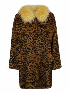 Alessandra Chamonix Charlotte Leopard Coat