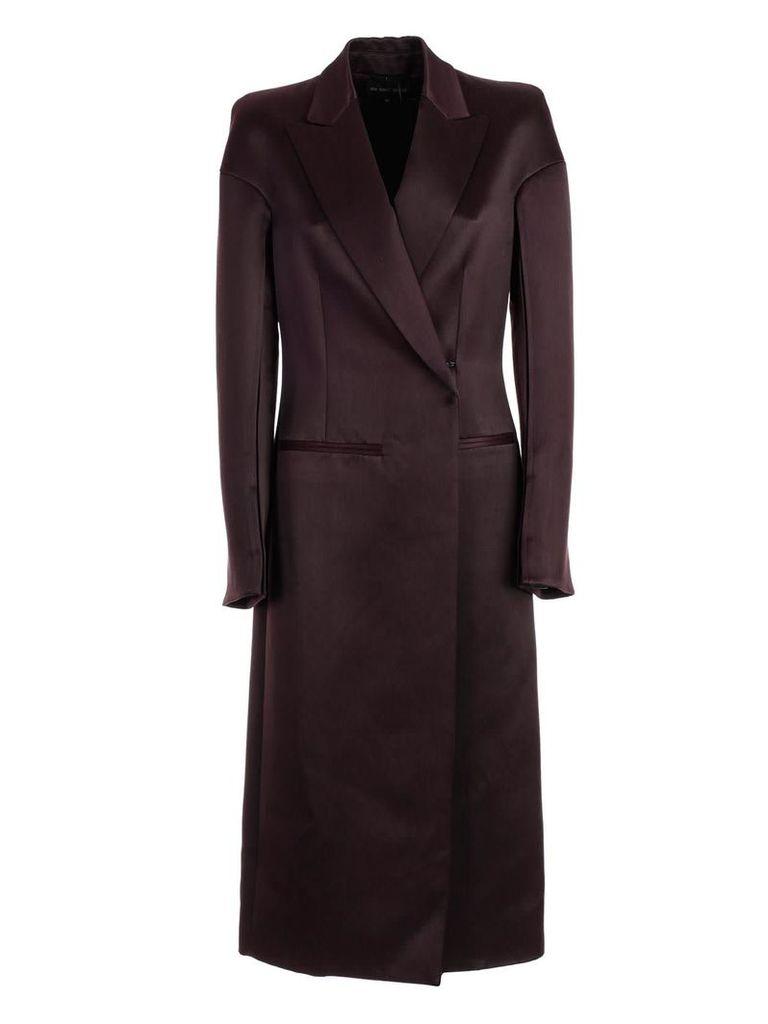 Ann Demeulemester Peaked Lapel Coat