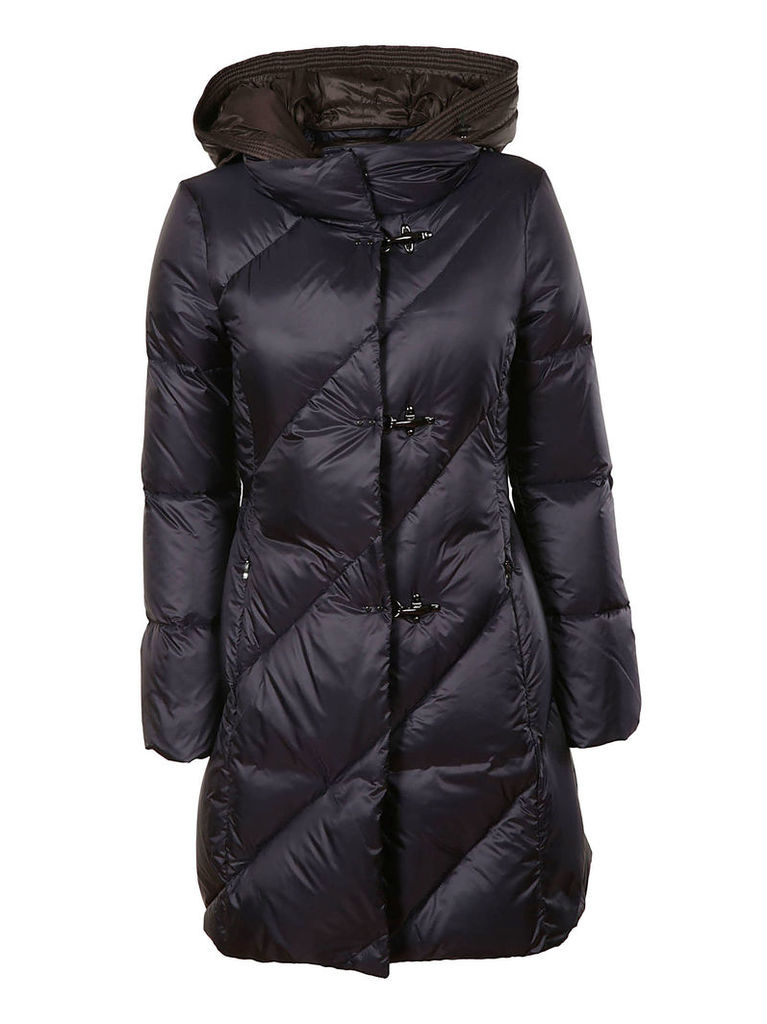 Fay Hooded Padded Coat