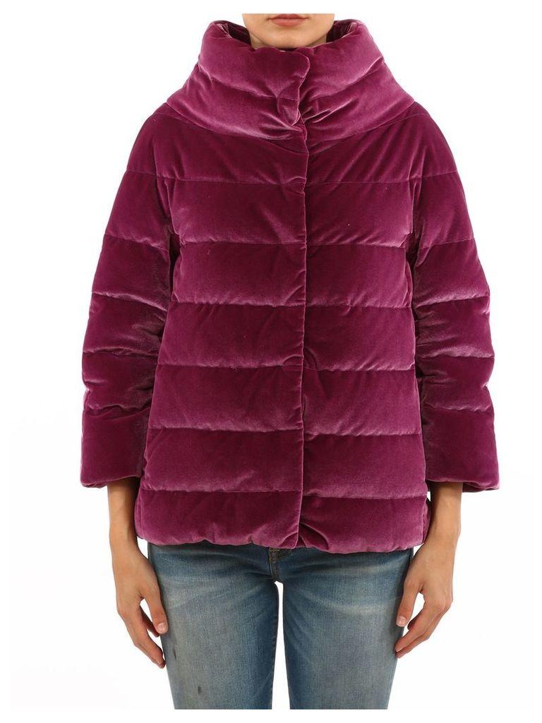 Herno Burgundy Puffer Jacket