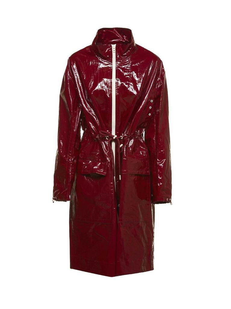 Isabel Marant Drawstring Waist Raincoat