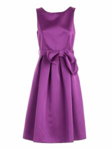 Parosh Bow Party Dress
