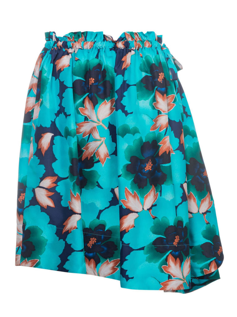 Kenzo Floral Flared Skirt