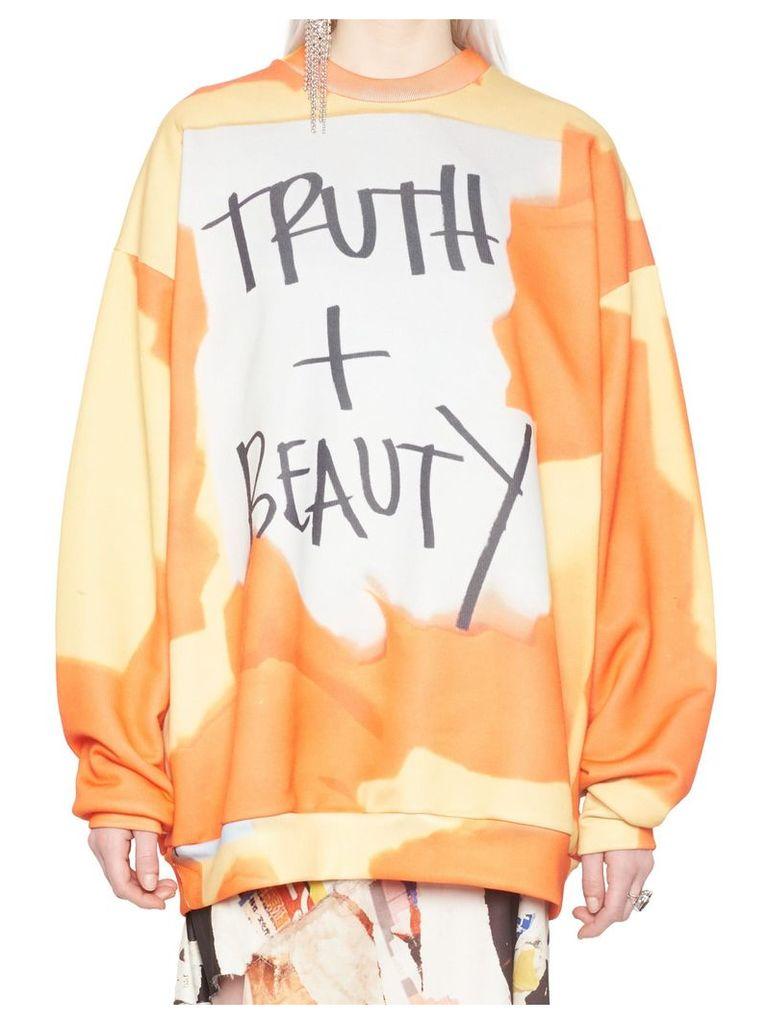 Marques'almeida 'truth + Beauty' Sweatshirt