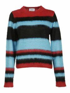 Dondup Striped Furry Jumper