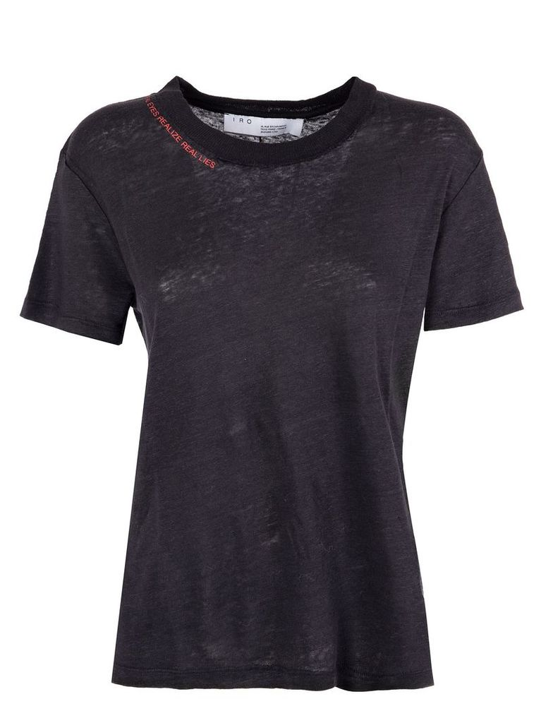 Iro Slow T-shirt In Black