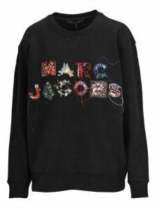 Marc Jacobs Marc Jacobs - Logo Embroidered Sweatshirt