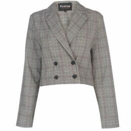 Firetrap Blackseal Checked Blazer - Grey