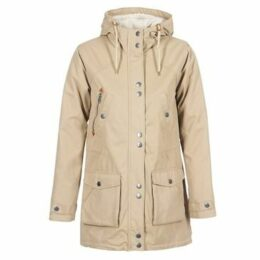 Volcom  WALK ON BY PARKA  women's Parka in Beige