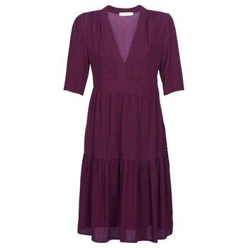 See U Soon  GUDO  women's Long Dress in Red