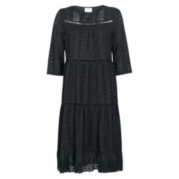 See U Soon  SOTARA  women's Long Dress in Black