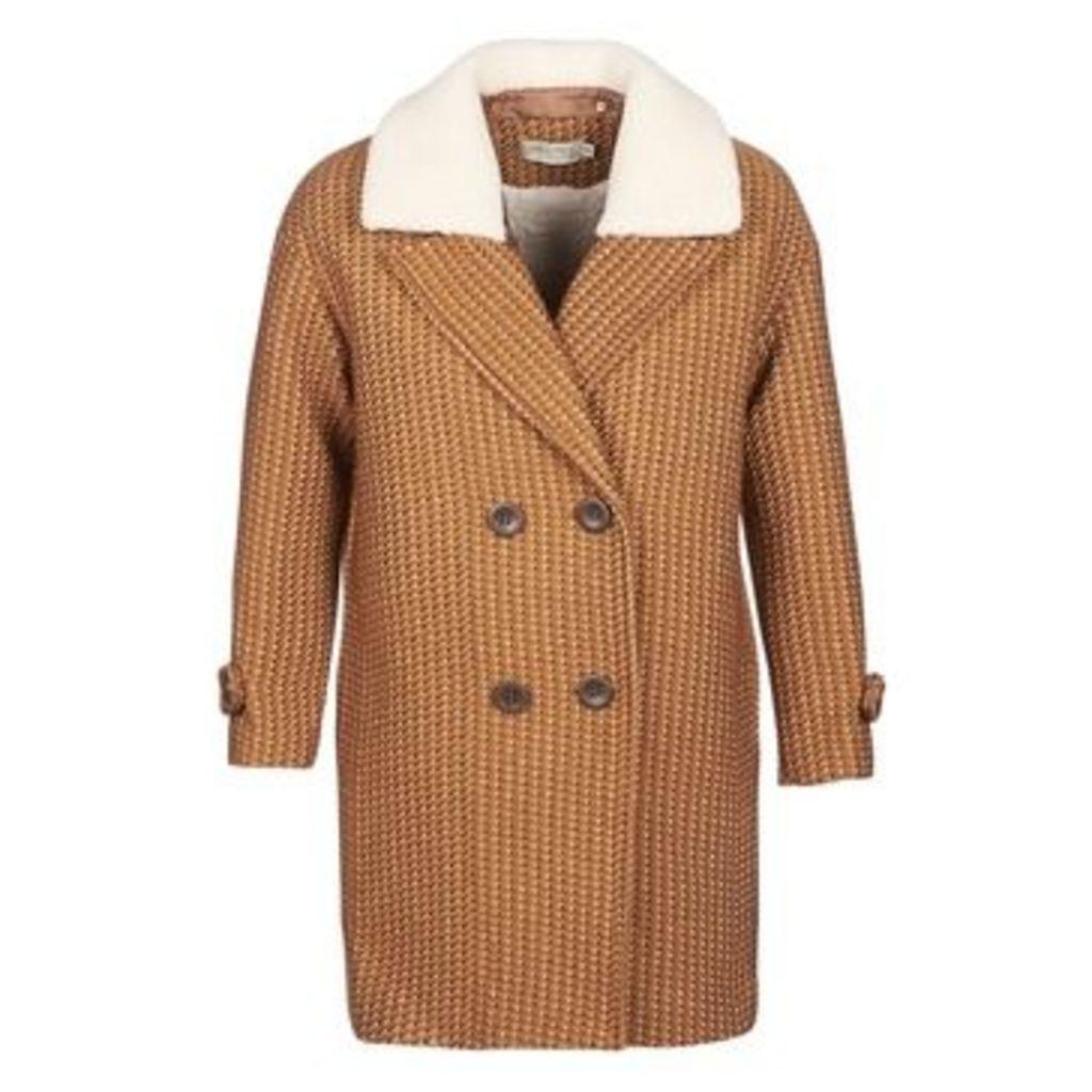 See U Soon  TURRIA  women's Coat in Brown