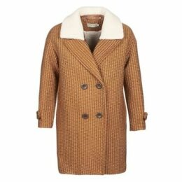 See U Soon  TURRIA  women's Coat in Brown