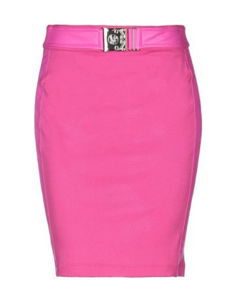 VERSACE JEANS SKIRTS Knee length skirts Women on YOOX.COM