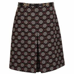 GUCCI Gg A Line Skirt