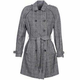 Naf Naf  ABITAILORING  women's Trench Coat in Grey