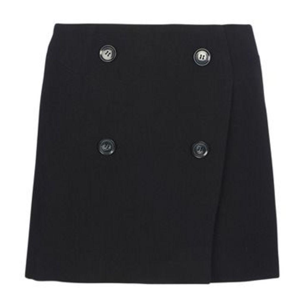 See U Soon  MISTI  women's Skirt in Black
