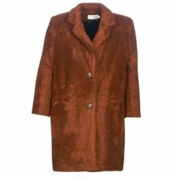See U Soon  REVENTA  women's Coat in Brown
