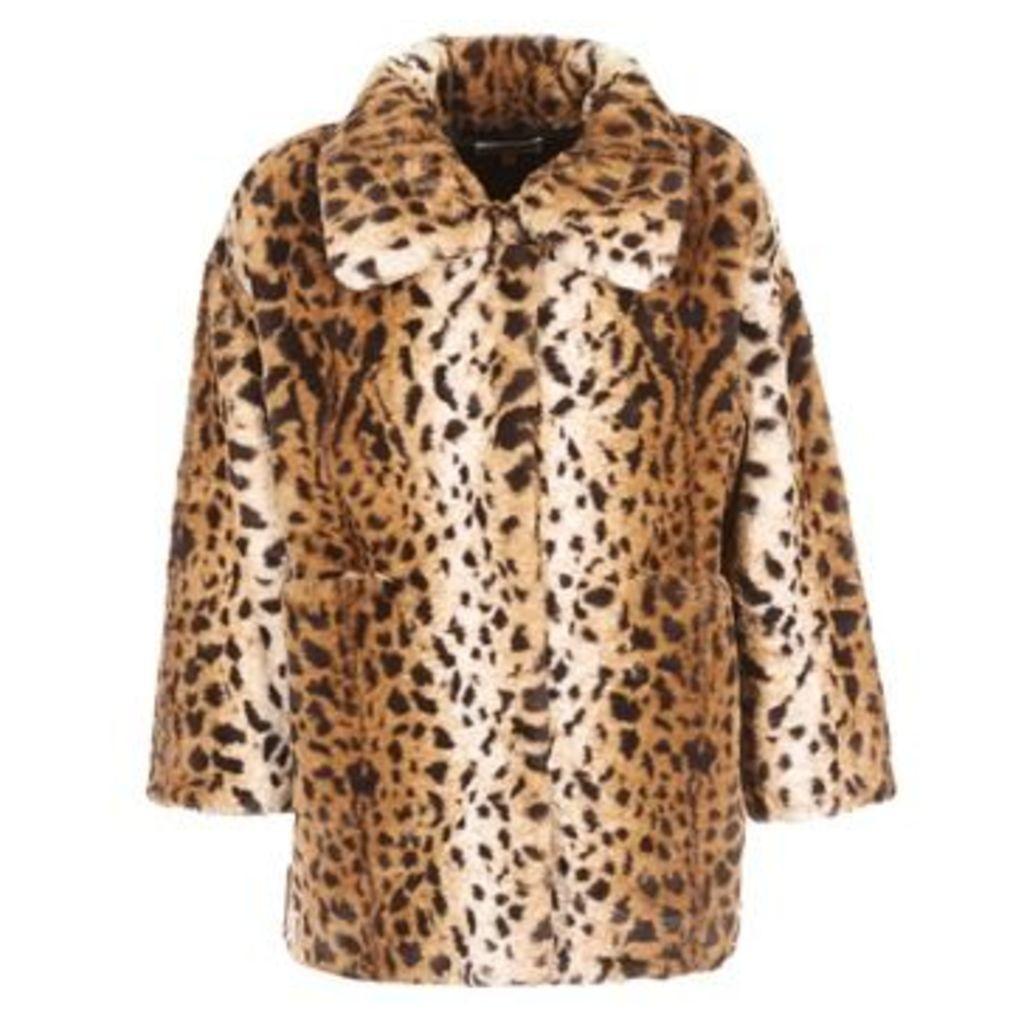 Derhy  BABORD  women's Coat in Beige