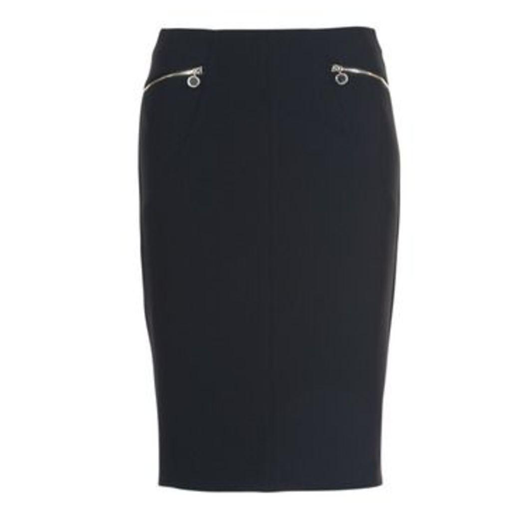 Morgan  JANO  women's Skirt in Black