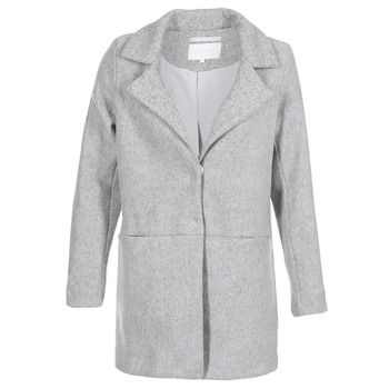 Vila  VIDORY  women's Coat in Grey