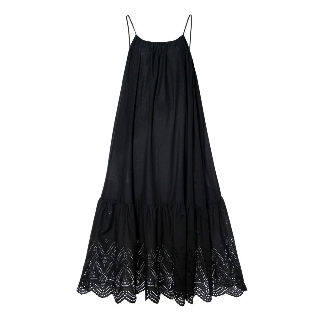 Shopyte - Daisy White Silk Dress 2