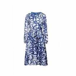 Rumour London - Freya Printed Silk Midi Dress