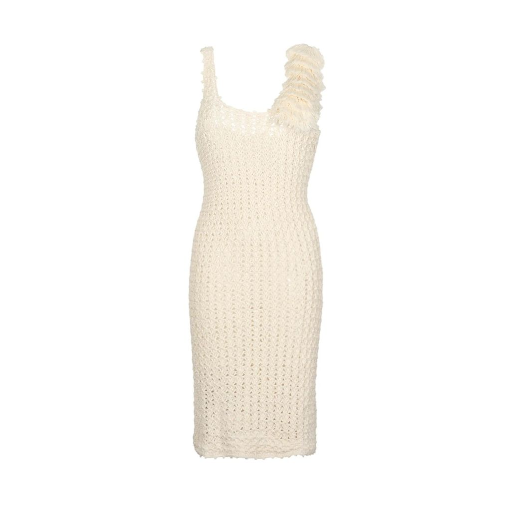 Klements - Frieda Dress In Garden Puppets Green Print