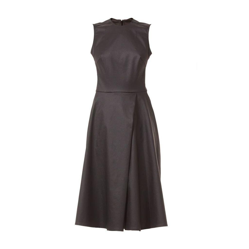 Talented - Sleeveless Full Front Denim Dress