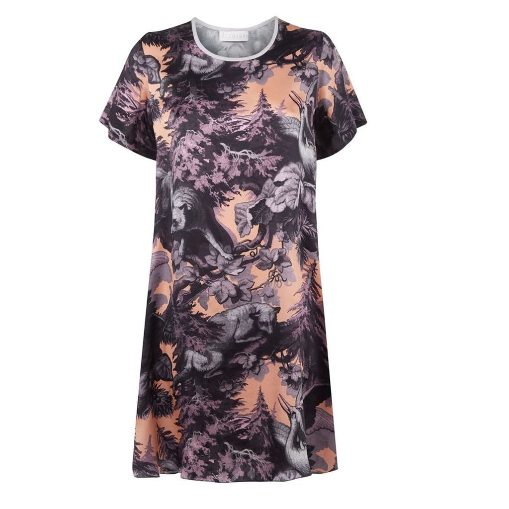 Klements - Frieda Dress In Bialowieza Forest Iced Lilac Print