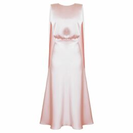 WtR - Massine Black Oversized Belted Silk Jacket