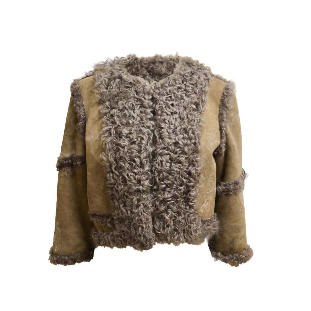 THE AVANT - Reversible Shearling Cropped Jacket