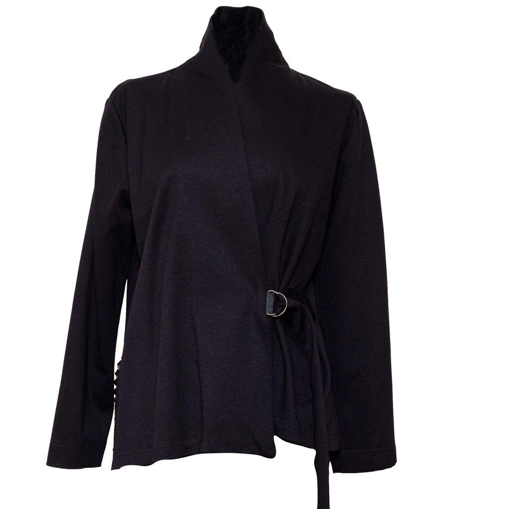 MUZA - Double-Breasted Wool Coat