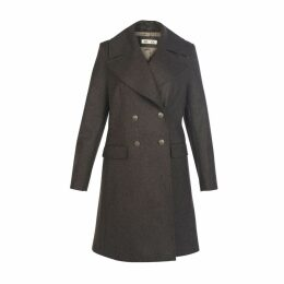 MUZA - Double-Breasted Wool Coat