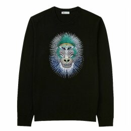 My Pair of Jeans - Baboon Embroidered Pullover