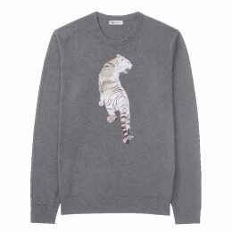 My Pair of Jeans - Tiger Embroidered Pullover