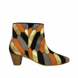 Manley - Alexa Leather Tee Pink