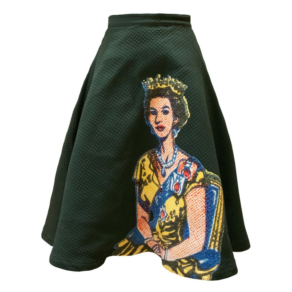 My Pair of Jeans - Queen Printed Round Skirt
