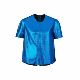 MAHI Leather - Pony Hair Leather Florence Tote In Black & White