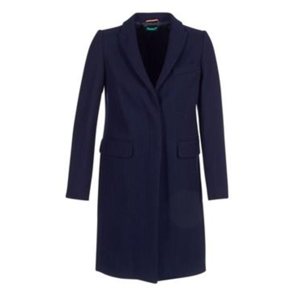 Benetton  MANO  women's Coat in Blue