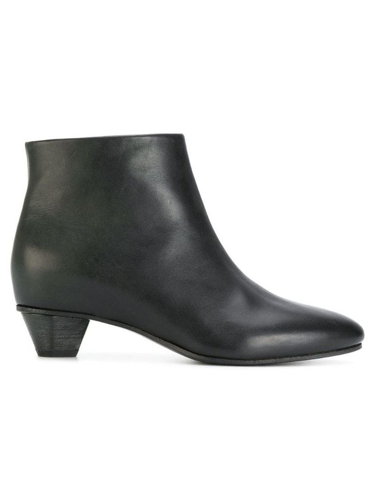 Del Carlo pointed toe ankle boots - Blue