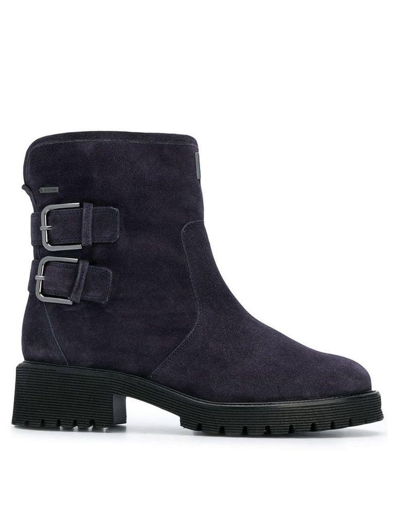 Hogl block military boots - Blue