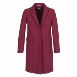 Benetton  MANO  women's Coat in Red