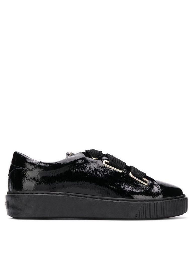 Tosca Blu lace-up platform sneakers - Black