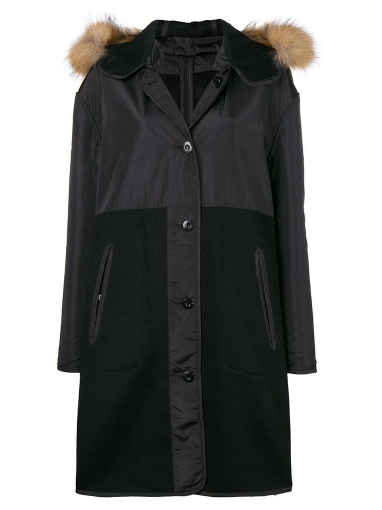 P.A.R.O.S.H. hooded parka - Black