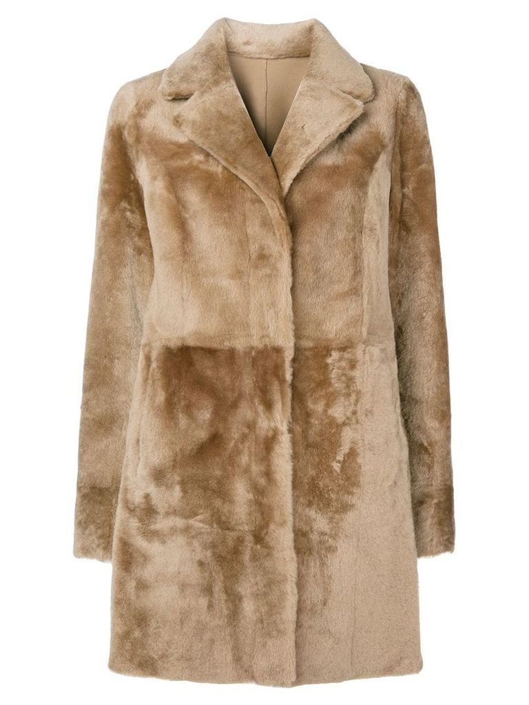 Drome fur coat - Brown